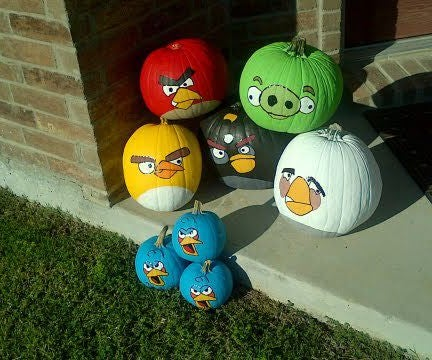 How to Make an Angry Birds Halloween Pumpkin Style!