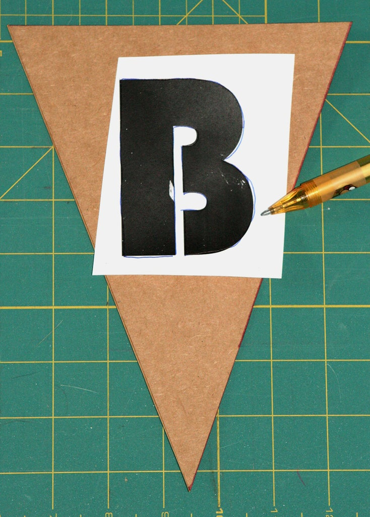 Add Your Letters, Choose a Stencil Font