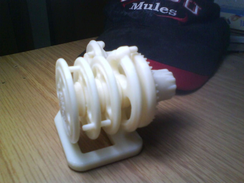 3D-Printed Combination Lock