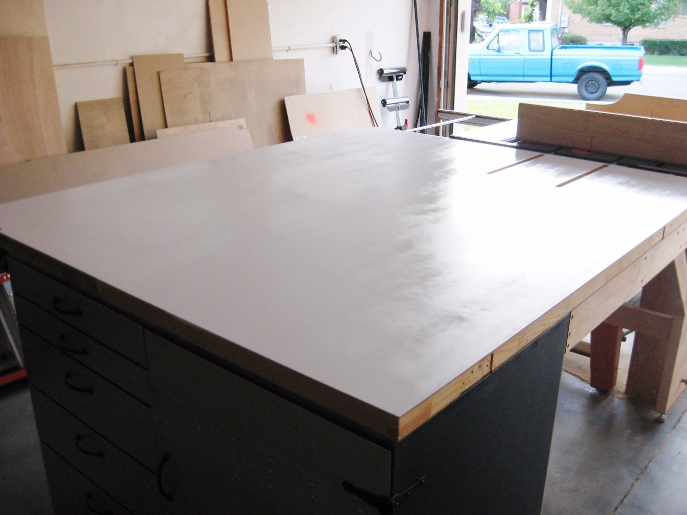Paint Table Top
