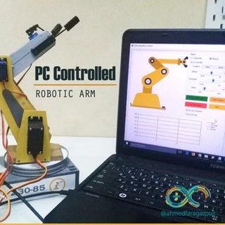 4 Axis Robot Arm DIY
