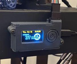 Smart 3D Printer Filament Counter