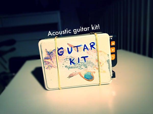 Guitar Survival Kit - Acoustic
