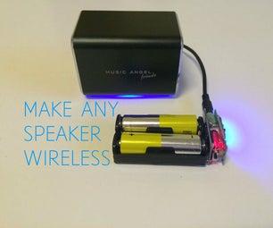 DIY Pocket Sized Bluetooth Receiver