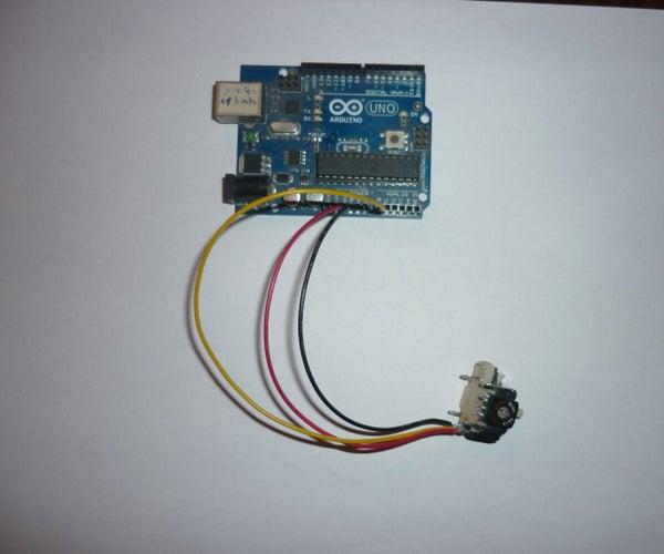 Calibrating a Joystick Potentiometer