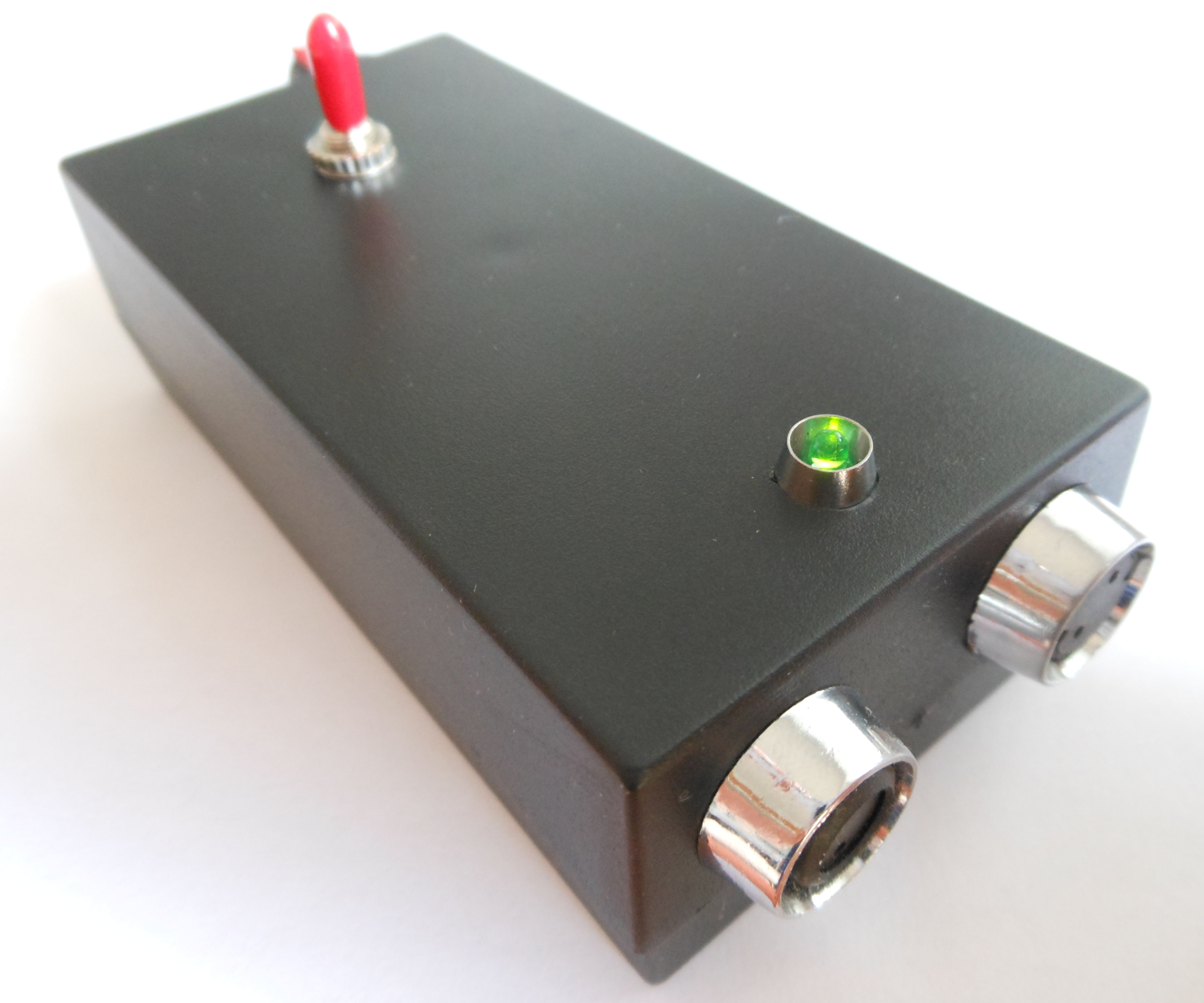 Electromagnetic Field (EMF) Detector with LM358