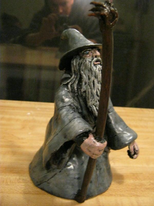 Sculpting Gandalf