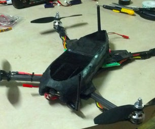 Durable FPV Quadcopter