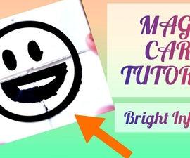 DIY魔法表情符号纸卡