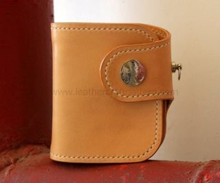 Leather Short Wallet by Improved Pattern