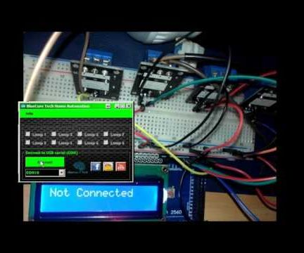 Arduino C# - HOME Automation With Pc and Arduino (Open Source)