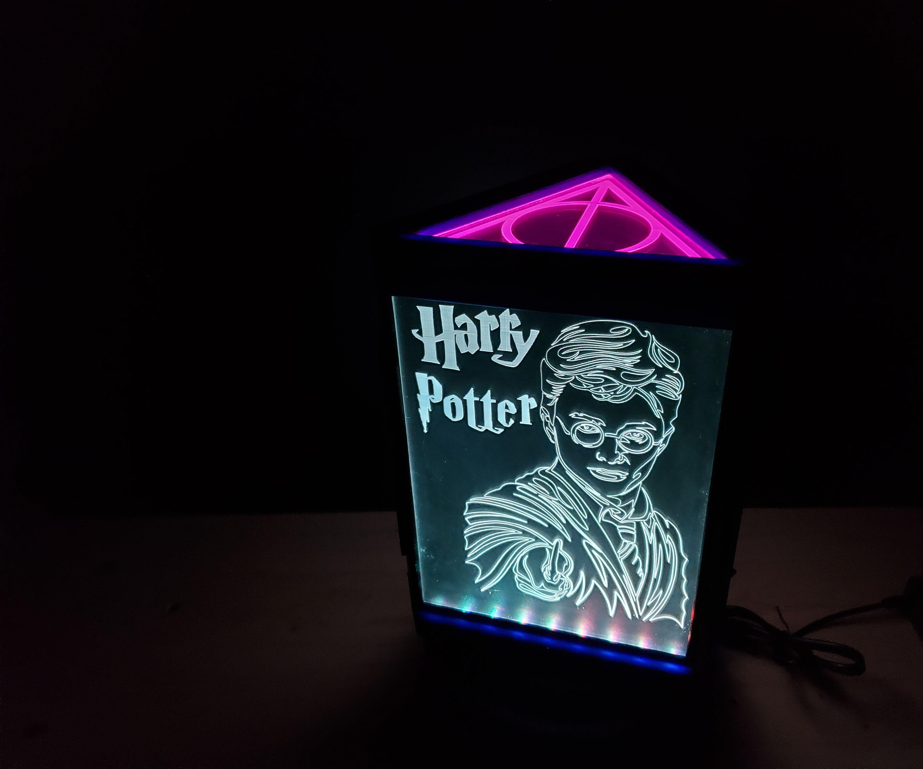 Rotating Harry Potter RGB Display