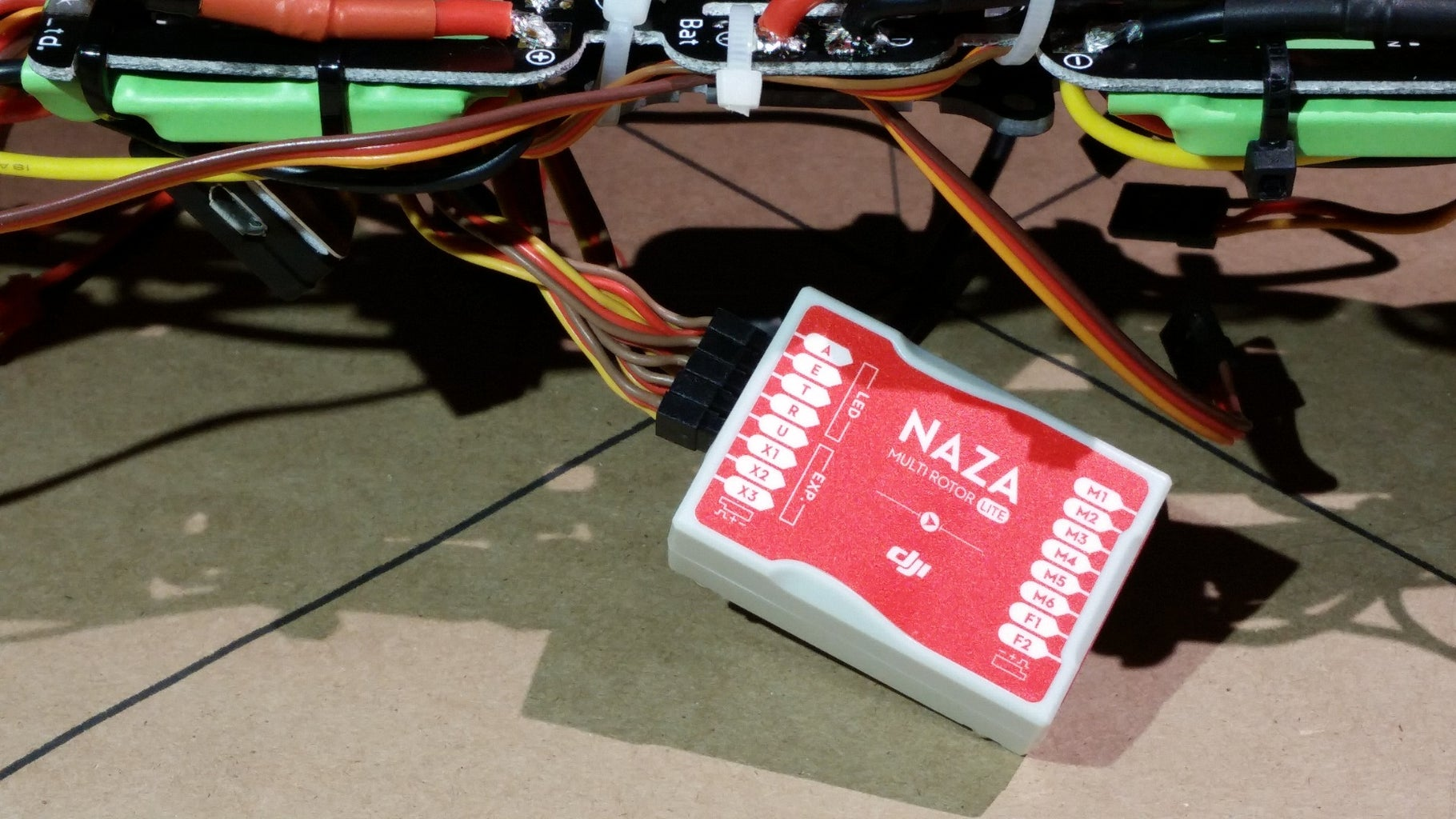 Connect the Radio Receiver to the Flight Controller