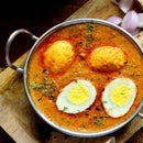 Egg Curry With Coconut