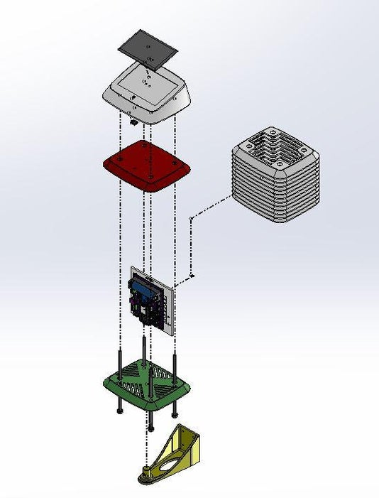 Assemble the 3D Printed Parts