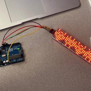 4 in 1 MAX7219 Dot Matrix Display Module Tutorial by Using Arduino UNO