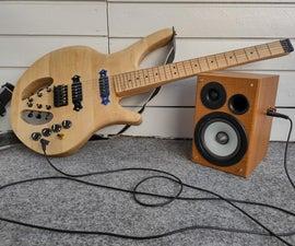 Simple LM386 Based Guitar Amplifier