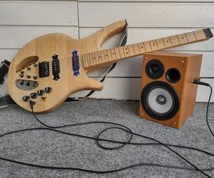 简单的LM386基吉他放大器