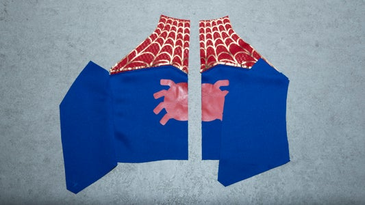 Sewing the Spider Suit