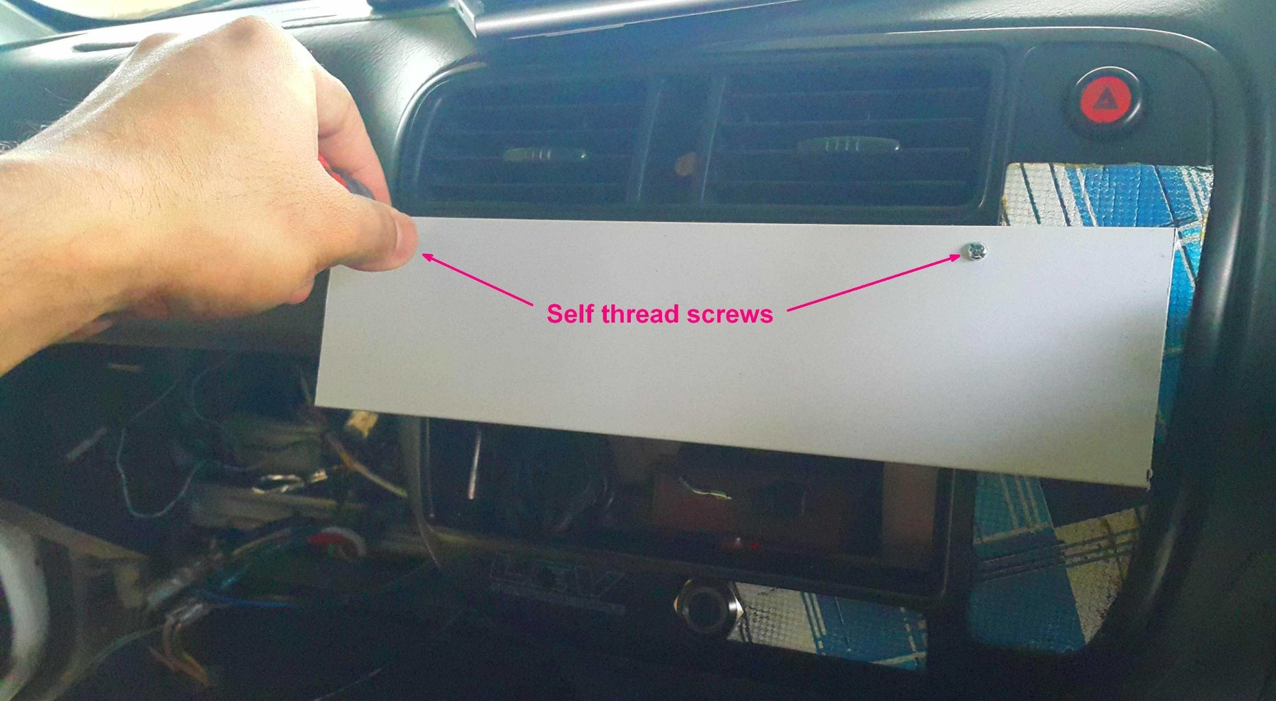 Installing Into the Car.
