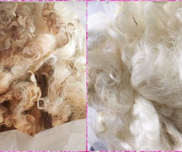 Hot Scouring Fiber at Home