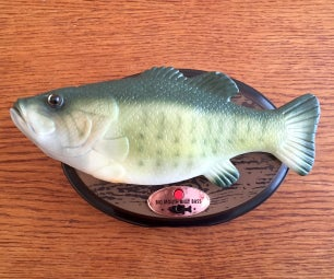 Animate a Billy Bass Mouth With Any Audio Source