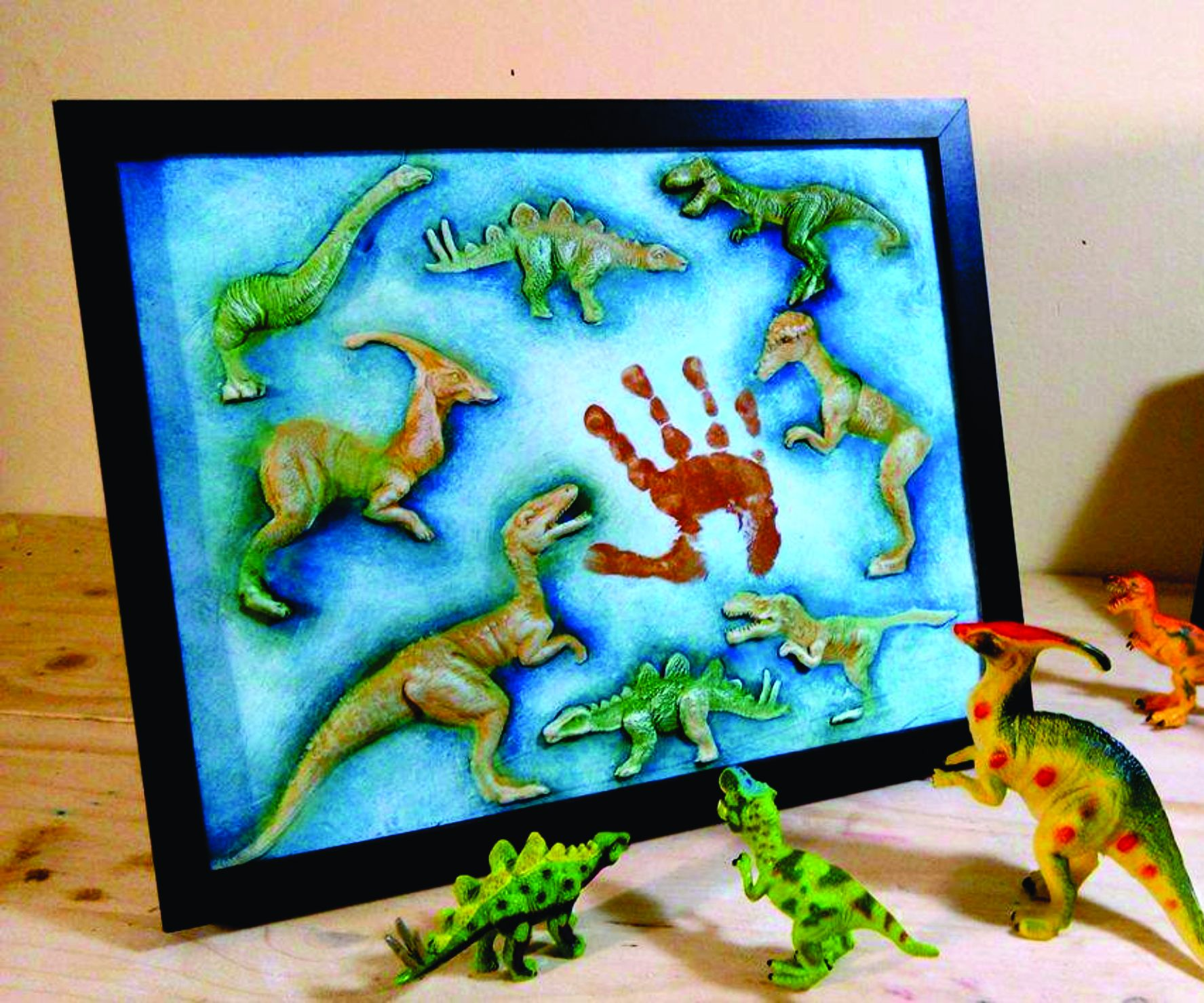 Baby Memory Board Using Toys