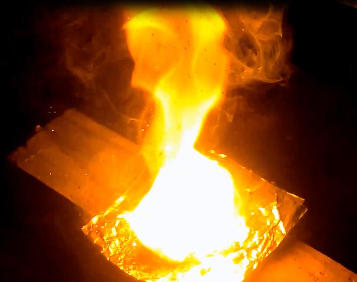 How To: Aluminium and Sodium Nitrate Burn Powder (Slow Burning)
