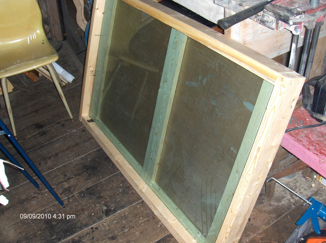 Building the Panel Frame - Get Out the Gorilla Glue!