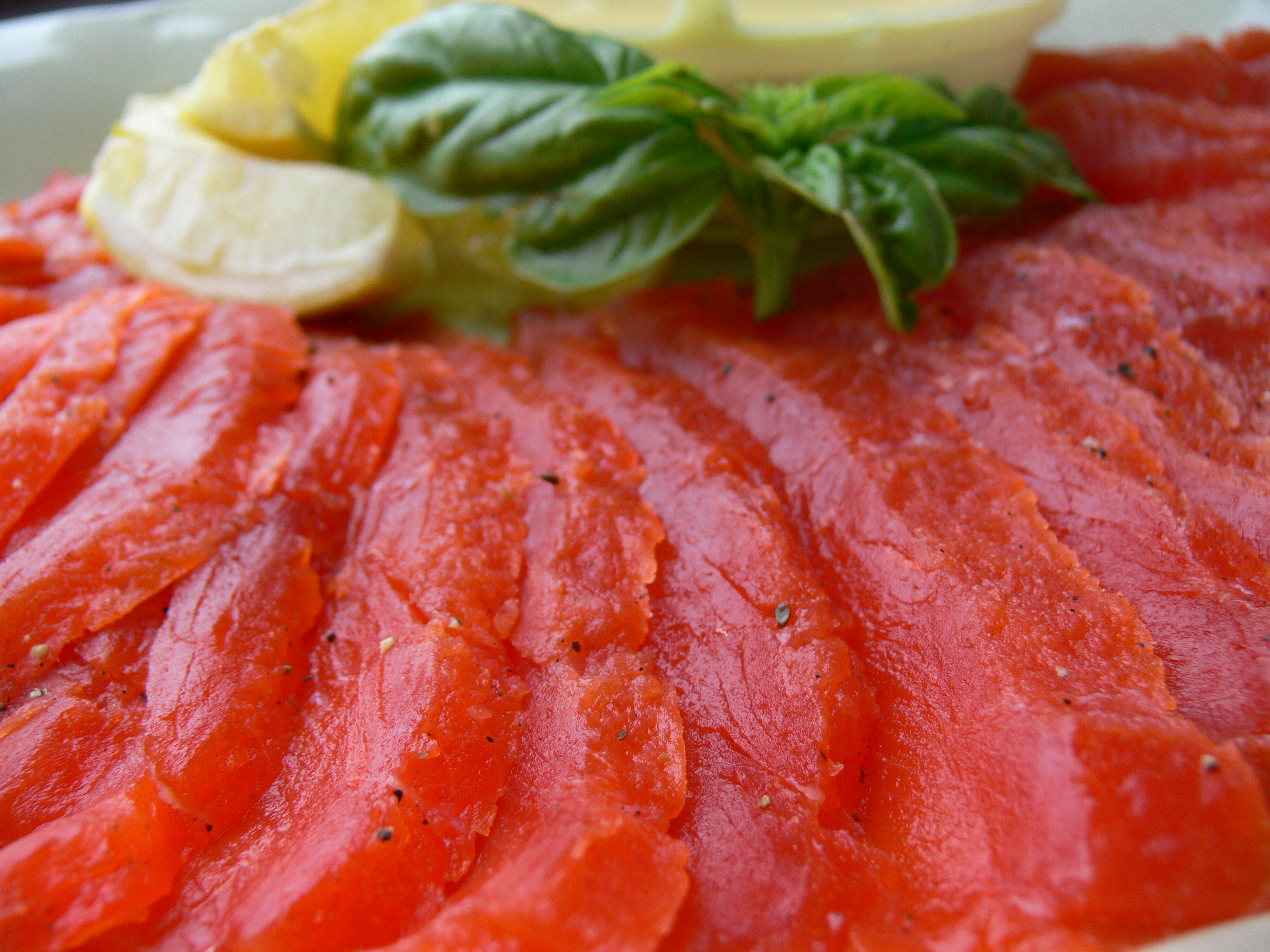 Homemade Honey Gravlax