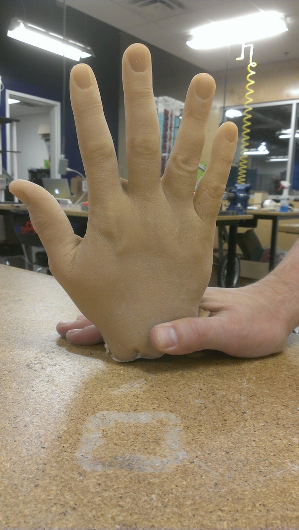 """Ever Need an Extra Hand for a Project?  Try """"Lifecasting"""""""