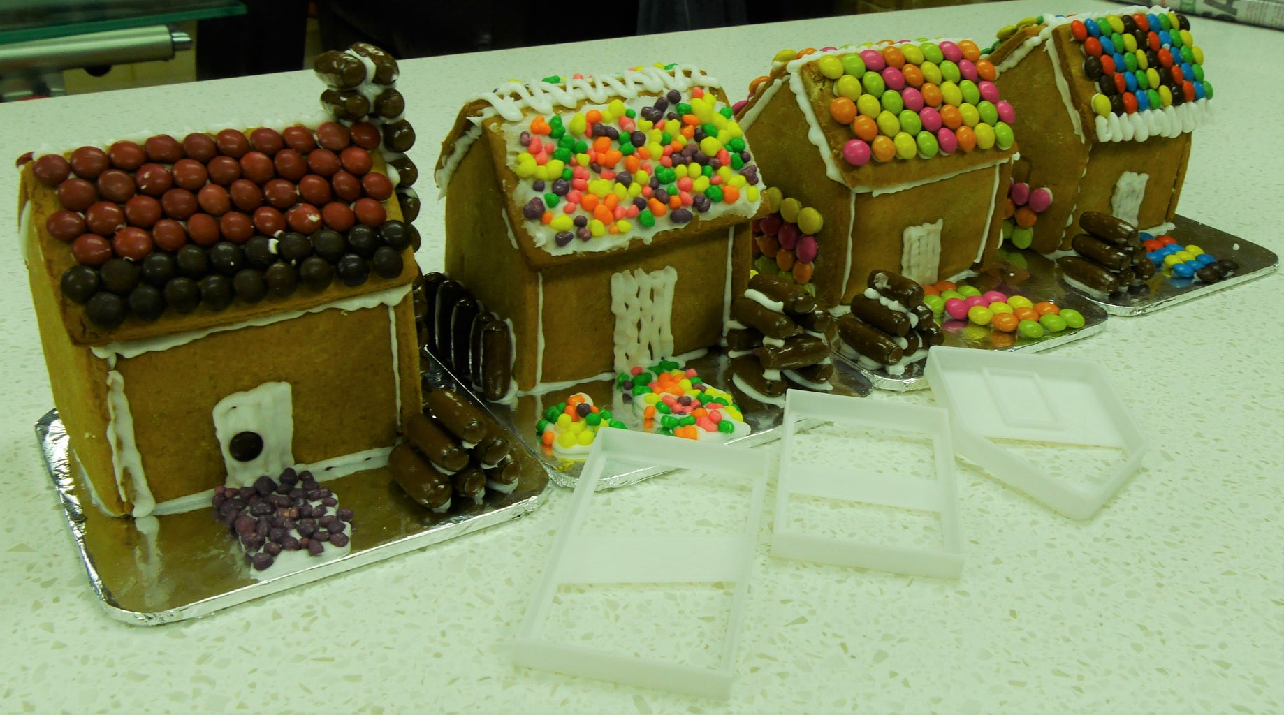 3D Printed Gingerbread House