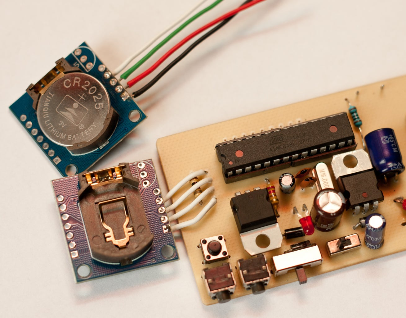 RTC Module and Automatic Lighting