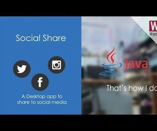 Desktop App to Share to Social Media | Geeky Way