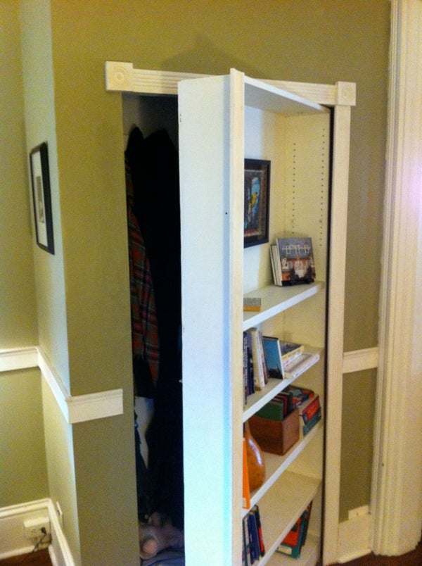 The Mysterious Bookcase