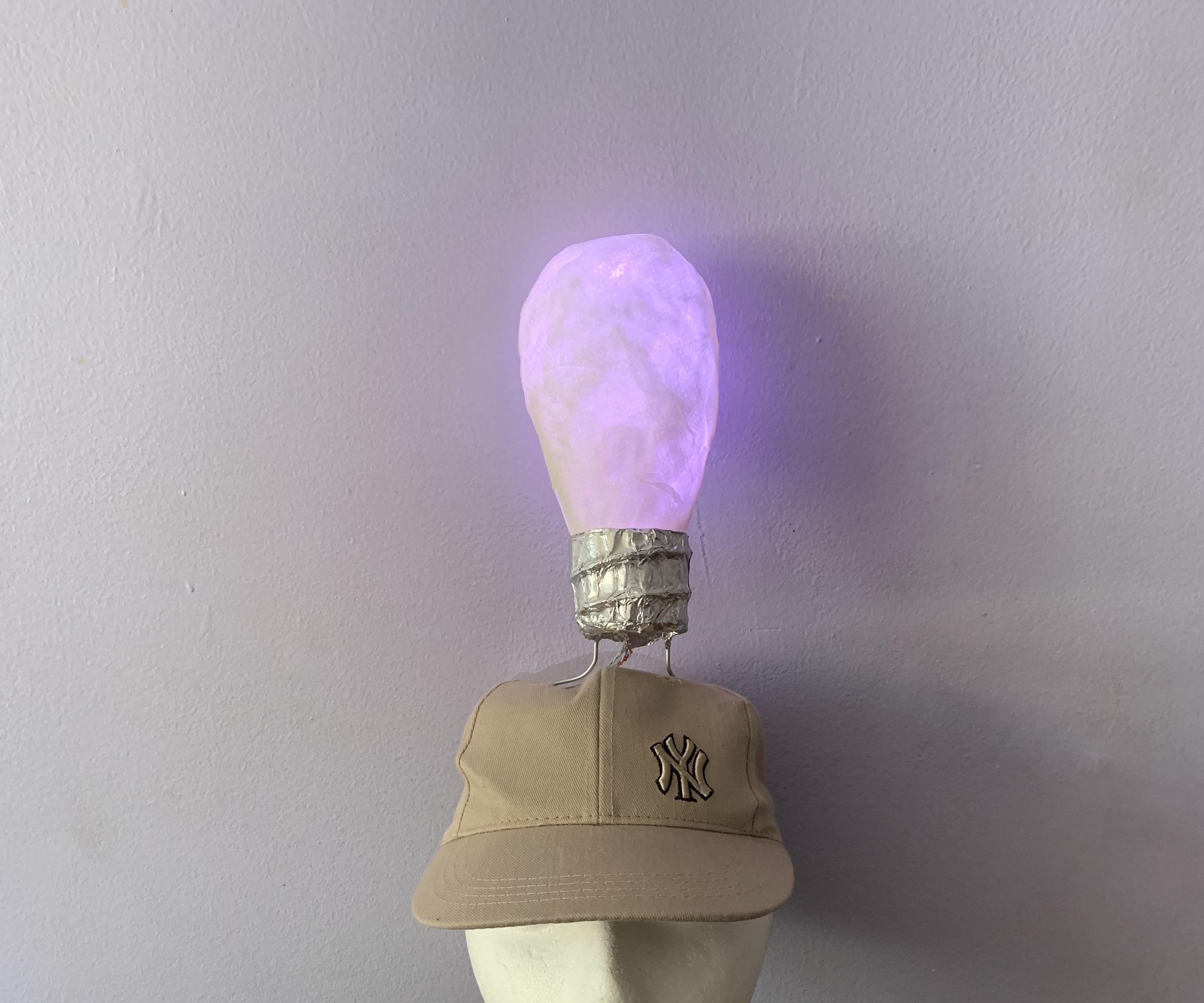 Bright Idea Light Up Lightbulb Hat