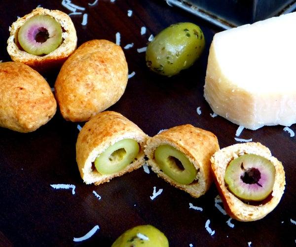 Parmesan Baked Olives - Easy Appetizer!