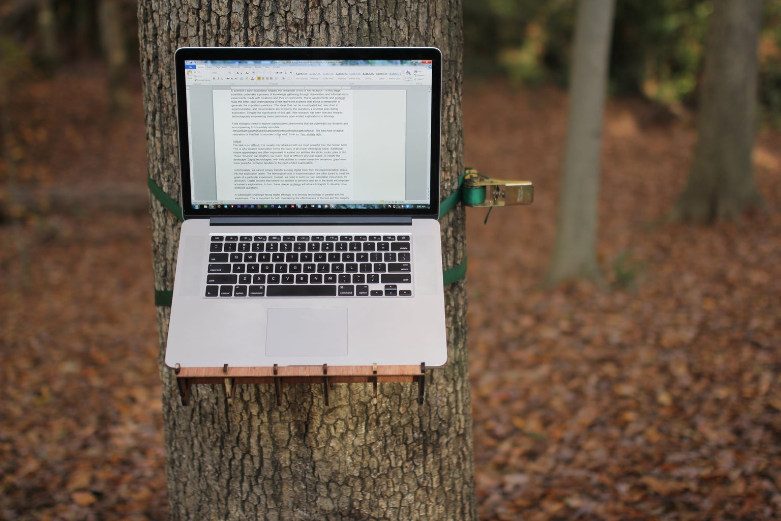 Standing Tree Desk