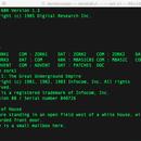 68k-mbc Playing Zork1, Zork2, Zork3 and Other 8080 Com Files