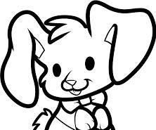 How to Draw a Eater Bunny