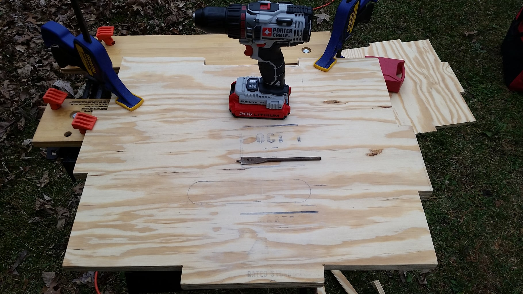 Measuring and Cutting the Handles