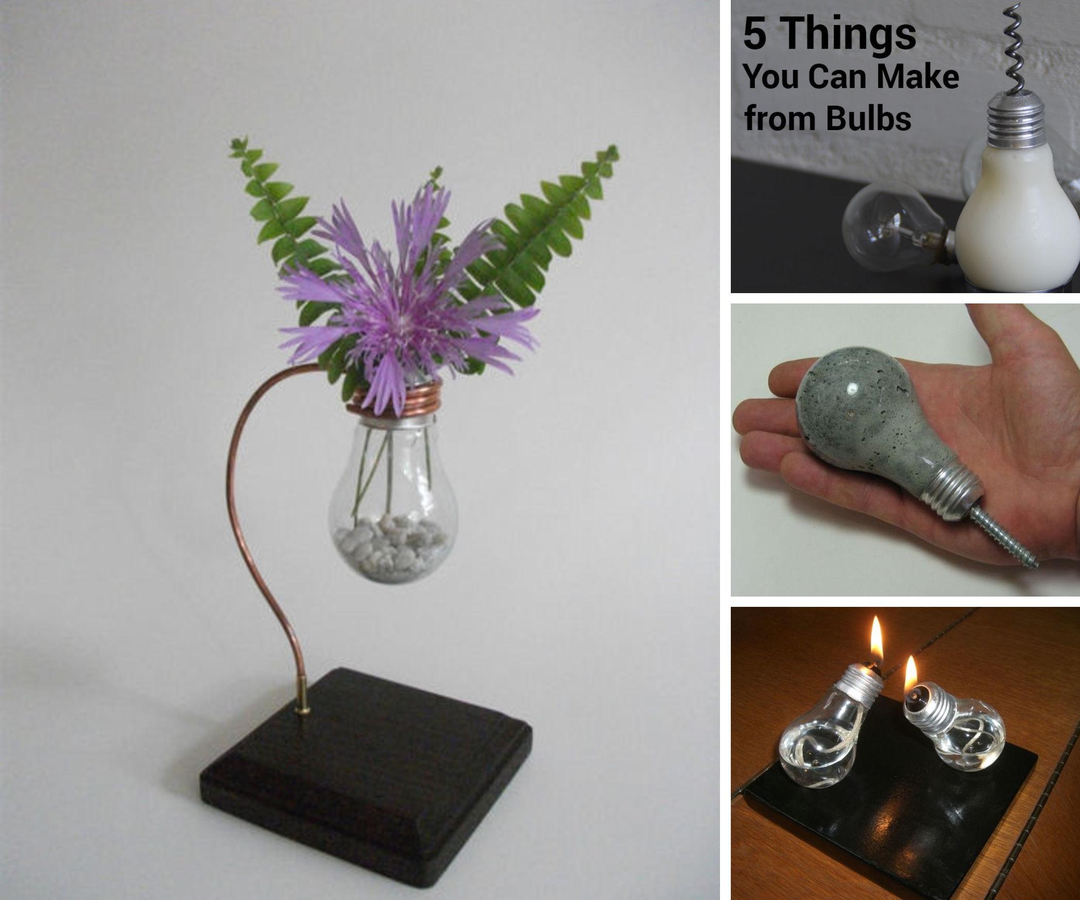 Unusual Uses for Light-Bulbs