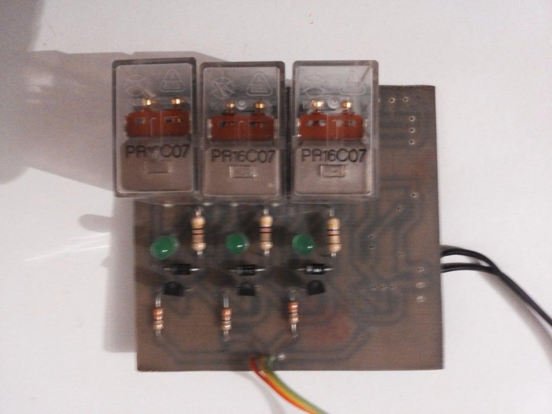 Making Custom Built Relay Module Board and Temperature Sensor