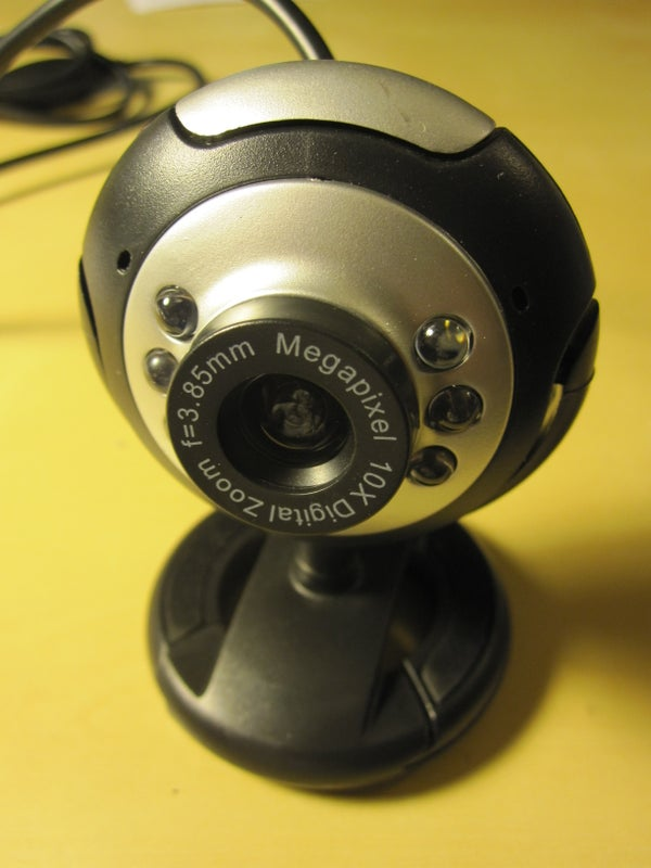 (Near) IR Infrared Webcam in 10 Minutes for Less Than $10
