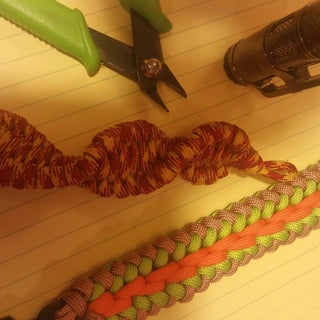 Paracord Helix, Hacked Version