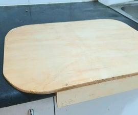 Wooden Work Deck