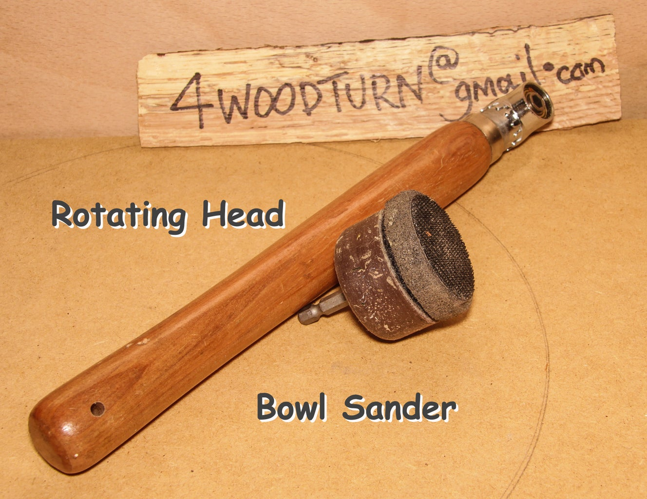 WOODTURNING BOWL SANDER