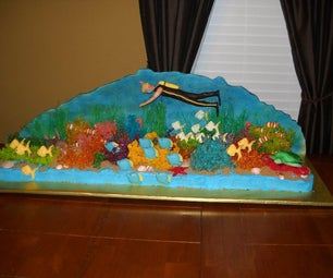 Deep Sea Diver Cake