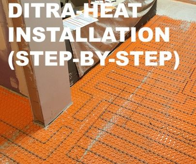 DITRA-HEAT Heated Flooring Systems (Step-by-Step Installation)