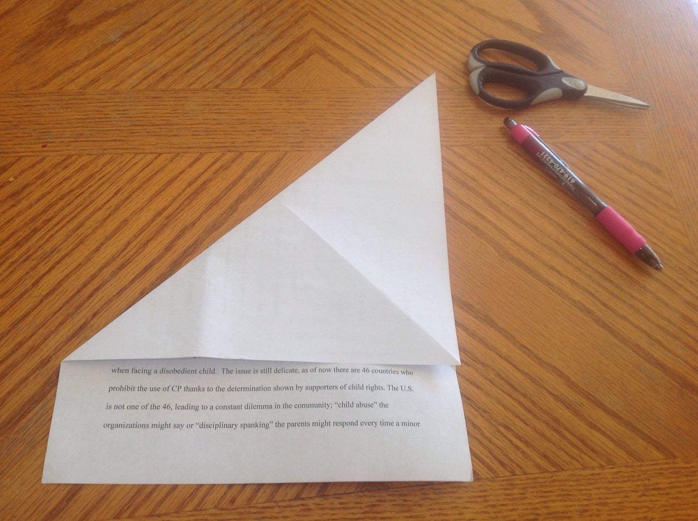 Part 1: Fold and Cut